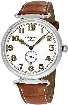 Longines Heritage 1918 Automatic White Dial Men's Watch