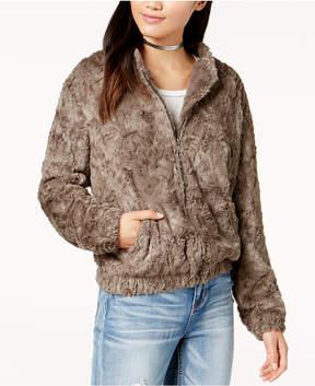 Astr Danika Faux-Fur Jacket