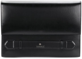 Versace logo clutch