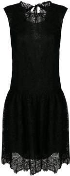 Ermanno Scervino lace drop waist dress