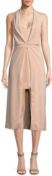 C/Meo COLLECTIVE Women's Halter Sheath Dress
