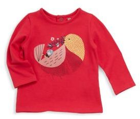 Catimini Baby's & Little Girl's Bird Print Tee