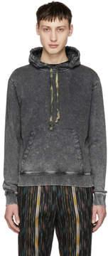 Saint Laurent Grey Washed Hoodie