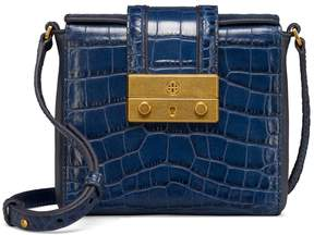 Tory Burch JULIETTE EMBOSSED CROSS-BODY - TORY NAVY - STYLE