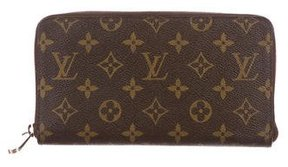 Louis Vuitton Monogram Zippy Organizer Wallet - BROWN - STYLE