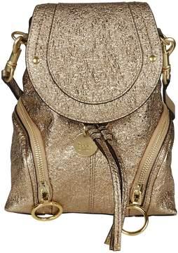See by Chloe Mini Metallic Backpack
