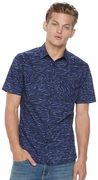 Rock & Republic Men's Stretch Poplin Button-Down Shirt