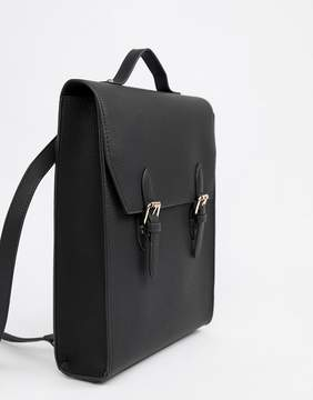 Asos DESIGN satchel backpack