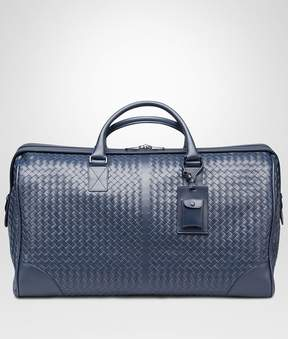 Bottega Veneta Large Duffel Bag In Light Tourmaline Intrecciato Vn