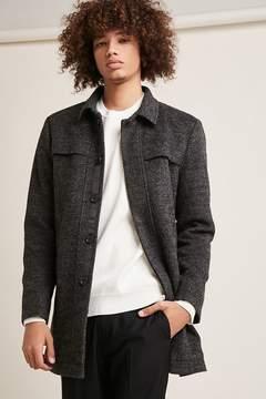 21men 21 MEN Wool-Blend Topcoat