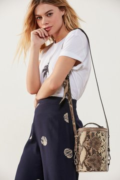 Urban Outfitters Anna Cylinder Crossbody Bag