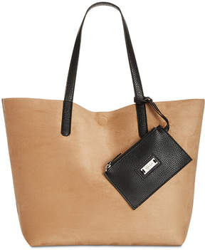 Style & Co Clean Cut Reversible Tote with Wristlet, Created for Macy's