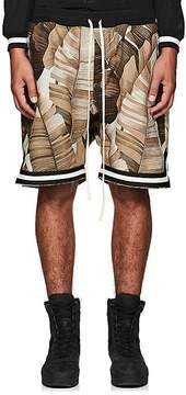 Fear Of God Men's thedrop@barneys: Palm Leaf-Print Cotton Drop-Rise Shorts
