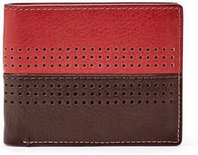 Fossil RFID Cody Leather Bifold Flip ID Wallet