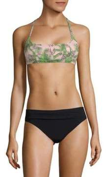 Pilyq Floral-Print Bikini Top