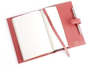 Royce Leather Royce Red Genuine Leather Executive Journal