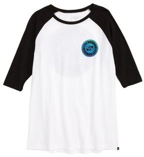 Quiksilver Boy's International Raglan T-Shirt
