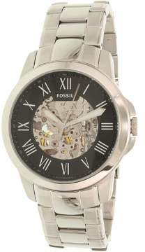 Fossil Grant Automatic Black Skeleton Dial Men's Watch ME3103