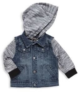 Urban Republic Baby's Hooded Long-Sleeve Jacket
