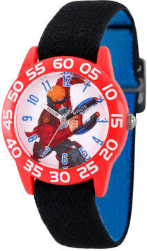 Marvel Guardian Of The Galaxy Boys Black Strap Watch-Wma000137