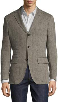 Michael Bastian Men's Herringbone Blazer Bee Liner Sportcoat