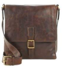 Logan Small Leather Messenger Bag