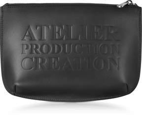 A.P.C. Atelier Noir Leather Pochette