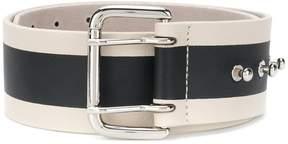 B-Low the Belt striped belt