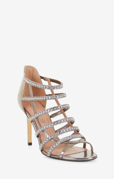 BCBGMAXAZRIA Louvain Metallic Crystal Sandal