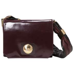 Sonia Rykiel Burgundy Leather Handbag