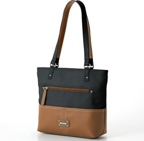 Co Stone & Donna Colorblock Leather Tote