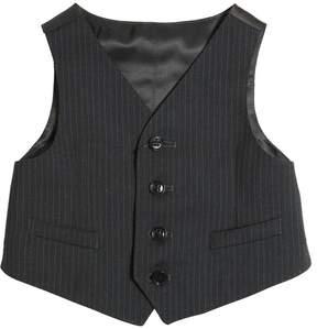 Dolce & Gabbana Cool Wool & Viscose Twill Vest
