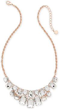 Charter Club Crystal Statement Necklace, Created for Macy's