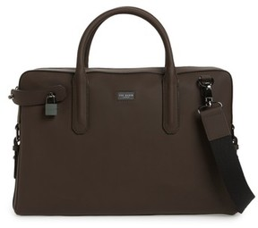 Ted Baker Men's Ozboz Leather Briefcase - Brown