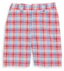 Oscar de la Renta Little Girl's & Girl's Classic Plaid Cotton Shorts