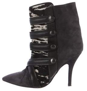 Isabel Marant Tacy Printed Ankle Boots