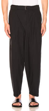 3.1 Phillip Lim Relaxed Pleated Trousers with Belt