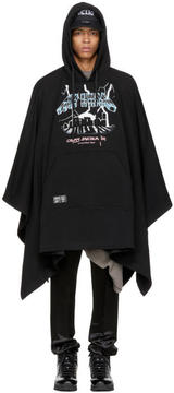 Kokon To Zai Black Cross Encounter Poncho Hoodie