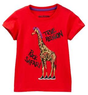 True Religion Rock Safari Tee (Toddler & Little Girls)
