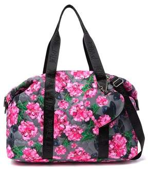 Betsey Johnson Quilted Nylon Weekend Bag