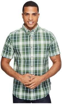 Royal Robbins Mid-Coast Seersucker Plaid Short Sleeve Men's Short Sleeve Button Up