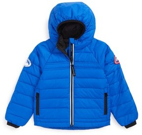 Canada Goose Toddler Bobcat Water Resistant Hooded Down Jacket