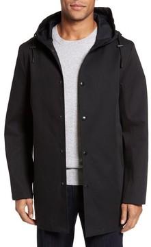 Stutterheim Men's Stockholm Bonded Waterproof Hooded Raincoat