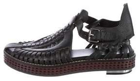 Proenza Schouler Leather Platform Sandals