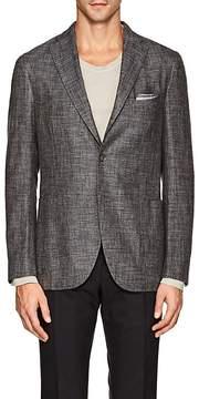 Boglioli Men's K Jacket Mélange Two-Button Sportcoat