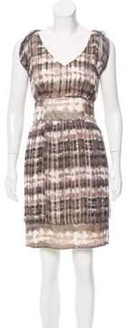 Adam Printed Silk Dress