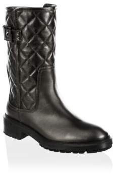 Aquatalia Layla Quilted Leather Boots