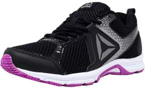 Reebok Women's Runner 2.0 Mt Black / Vicious Violet Pewter Ankle-High Running Shoe - 8.5M