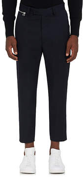 Oamc Men's Zip-Detailed Wool Gabardine Trousers