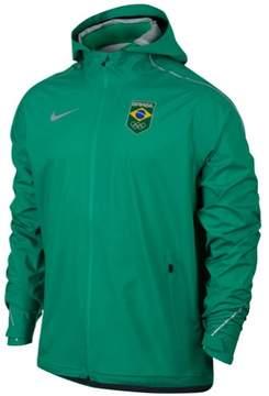 Nike Mens Hyper Shied Raincoat Green 2XL